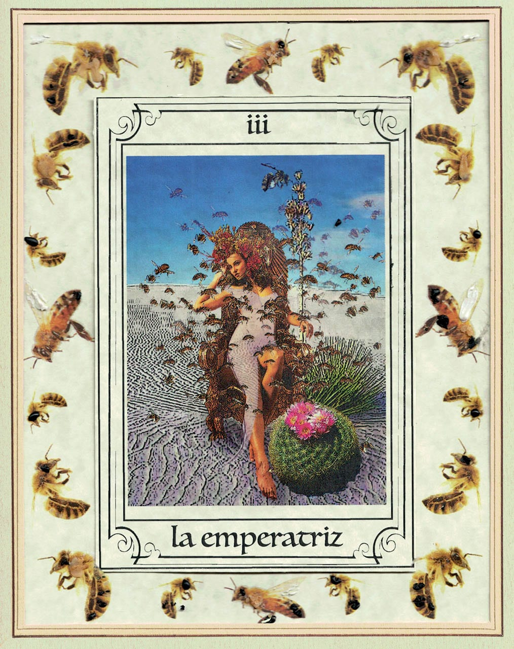 <i> Empress from Tarot del Río de las Ánimas Perdidas <i>